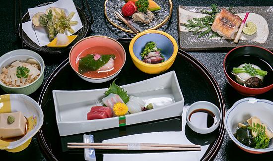 日本會席料理日式套餐 春季一例