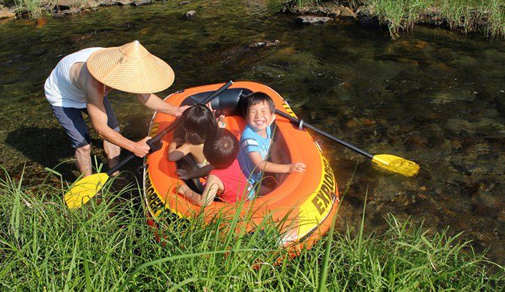 川遊び(夏季)